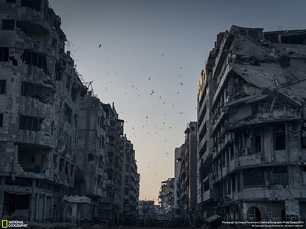 National Geographic Photo Contest 2014 Destroyed Homs