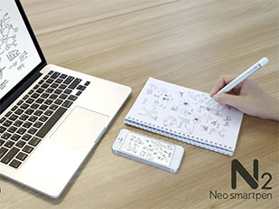 Neo Smartpen N2 ปากกาเขียนบนกระดาษ เซฟลงมือถือ