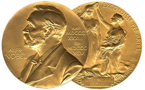 Nobel Peace Prize Medal Malala Yousafzai