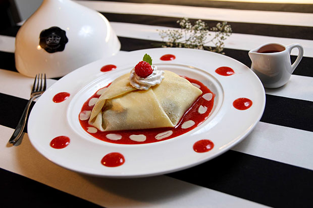 Lady Diana Berry Crepe