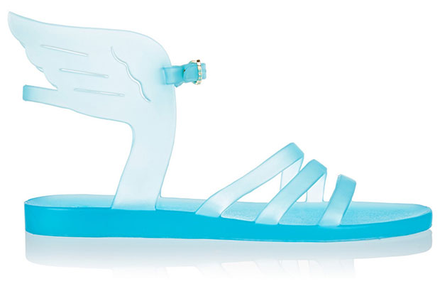 Sky Blue Ikaria Rubber Wing Sandals