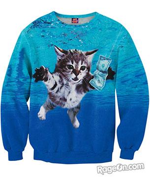 สเว็ตเคอร์ลายแมว
