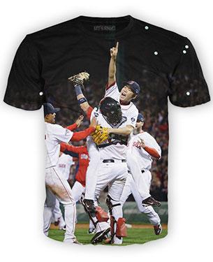 เสื้อยืดลายเบสบอลทีม