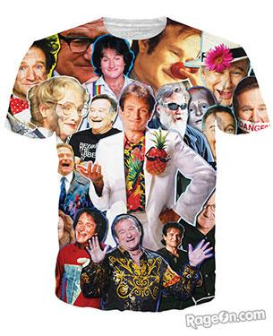 เสื้อยืด Robin Williams