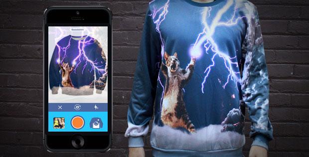 SnapShirt แอพสั่งพิมพ์ภาพลงบนเสื้อผ้า