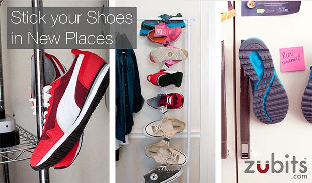 Zubits ผูกเชือกรองเท้าด้วยแม่เหล็ก เก็บรองเท้า โดยติดแม่เหลํก