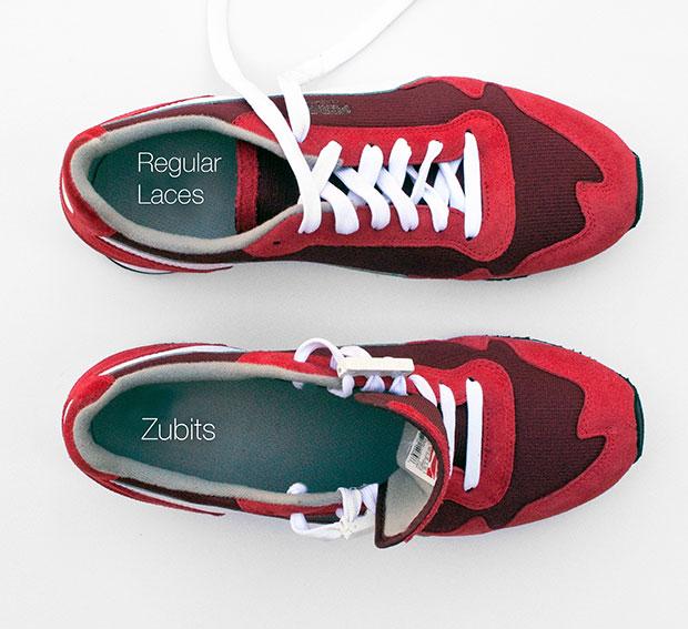 Zubits ผูกเชือกรองเท้าด้วยแม่เหล็ก เปิด สวมใส่ง่าย
