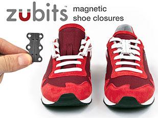Zubits ใช้แม่เหล็กแทนการรผูกเชือรองเท้า