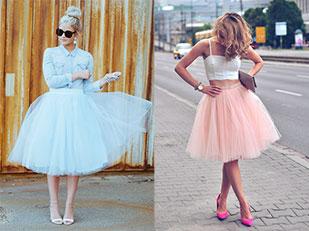 กระโปรงฟูฟ่อง Tulle Skirt