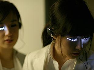 ขนตาติดไฟ LED