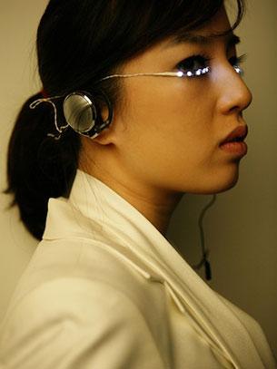 ขนตาปลอม LED