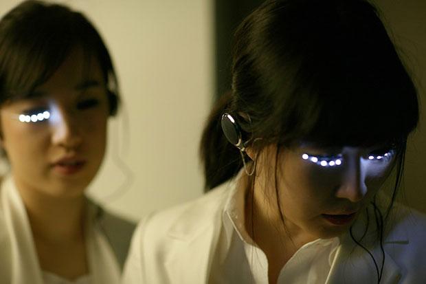 ขนตา LED