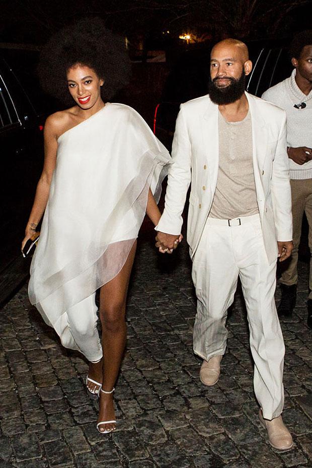 งานแต่งงาน น้องสาวของ Beyoncé ธีมสีขาวล้วน