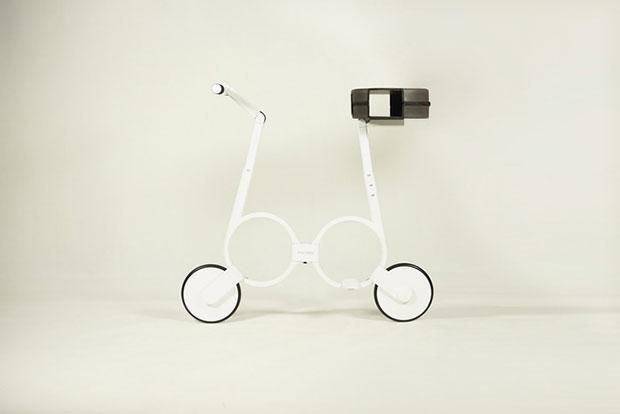 จักรยานไฟฟ้าพับใส่กระเป๋าได้