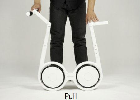 จักรยานไฟฟ้าแบบพับ ดึงแฮนด์ ดึงที่นั่ง