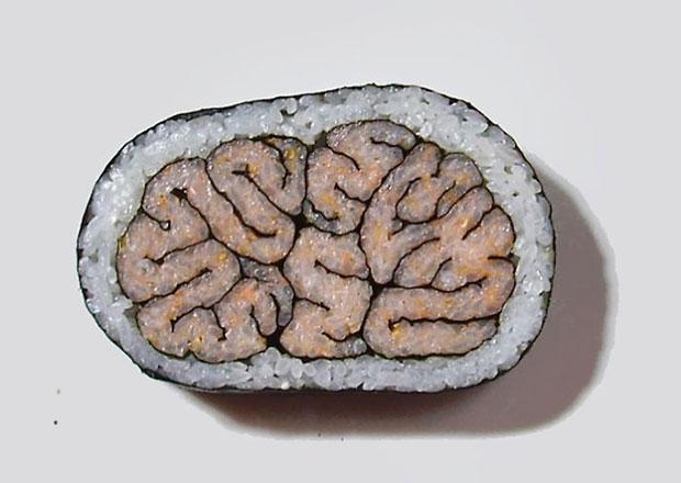 ซูชิรูปสมอง
