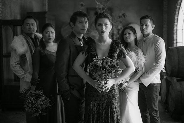 ถ่ายภาพหมู่แต่งงาน ธีม Maleficent