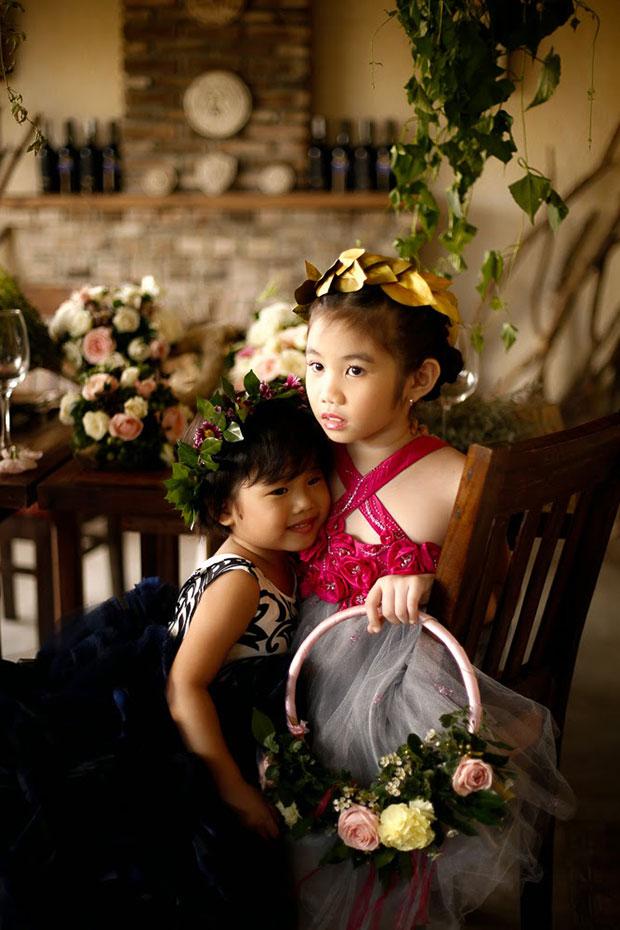 ถ่ายภาพแต่งงาน ธีม Maleficent ภาพเด็กๆ