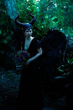 ถ่ายภาพแต่งงาน ธีม Maleficent