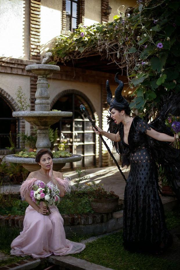 ถ่ายภาพแต่งงาน Maleficent เจ้าหญิงออโรร่า