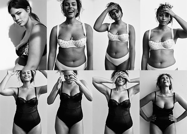 บราเพื่อผู้หญิงทุกไซส์ Vogue