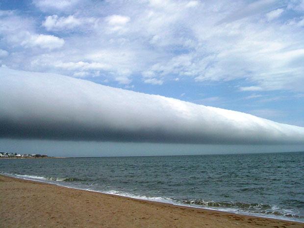 ภาพถ่าย เมฆม้วน อุรุกวัย