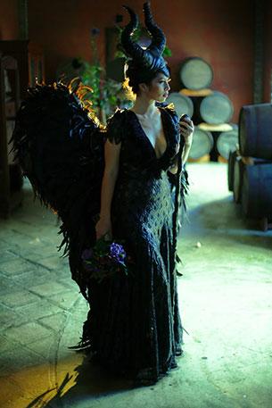 ภาพแต่งงาน Maleficent