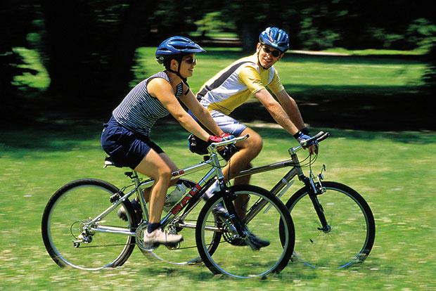 วิธีออกกำลังกายง่ายๆ ปั่นจักรยาน