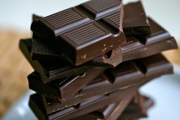 อาหารบำรุงผิว ช็อคโกแลตดำ