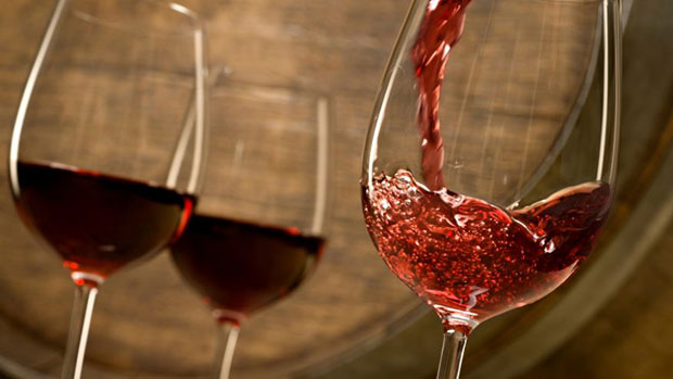 อาหารบำรุงผิว ไวน์แดง
