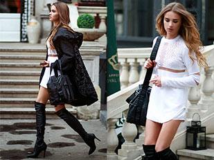 เสื้อ Alexander Wang for H&M, เสื้อโค้ท H&M, กระเป๋า Alexander for Wang H&M, รองเท้า Styleintro.pl