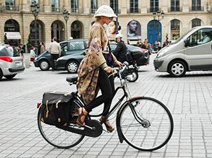 แฟชั่นบนจักรยาน