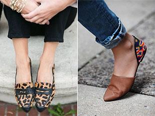 แฟชั่นรองเท้าส้นเตี้ย
