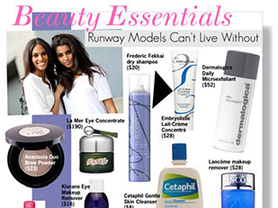 Beauty Essentials Runway Models Can't Live Without by kusja