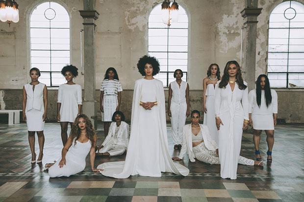 Beyoncé เพื่อนเจ้าสาว งานแต่งงานน้องสาว Solange