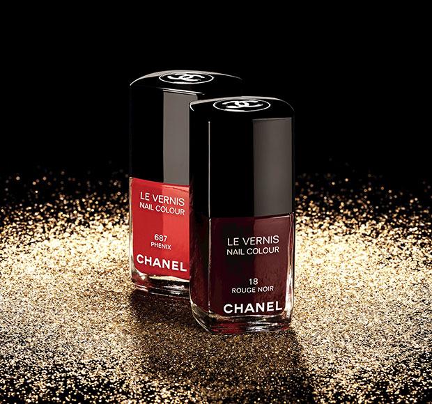 Chanel LE VERNIS 687 Phénix, 18 Rouge Noir