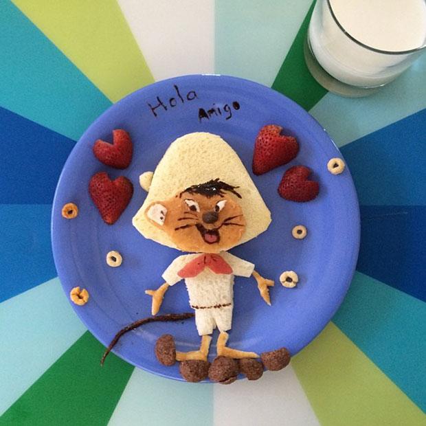 Food Art Speedy Gonzales