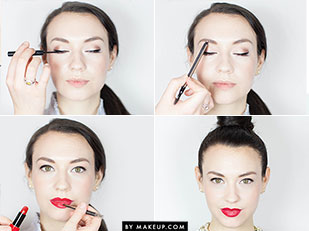 Girly to Glam Malkeup