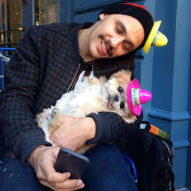Marnie the Dog James Franco