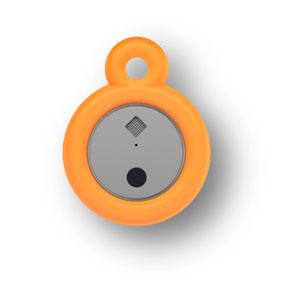 อุปกรณ์ช่วยฝึกการหายใจ สีส้ม