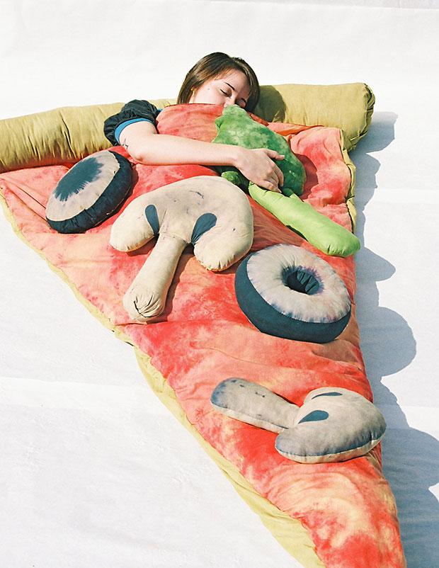 ถุงนอนพิซซ่า