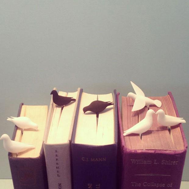 ที่คั่นหนังสือรูปนก