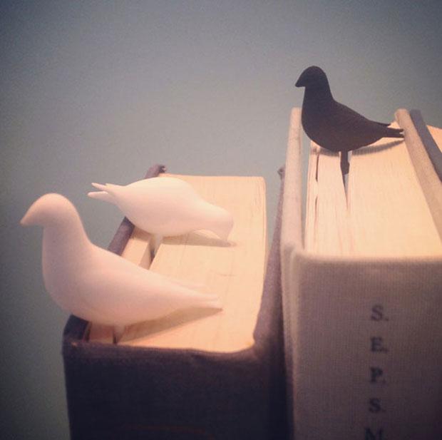ที่คั่นหนังสือ รูปนก