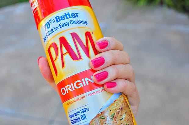 พ่นสเปรย์น้ำมันปรุงอาหาร PAM Organic Canola Oil ช่วยให้เล็บแห้งเร็วขึ้น