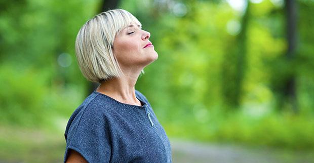 วิธีหายใจเพื่อลดความเครียด