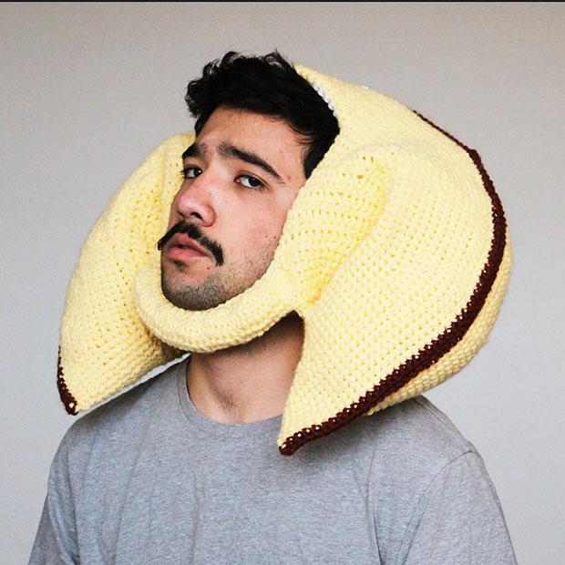 หมวกโครเชต์ คุกกี้นำโชค