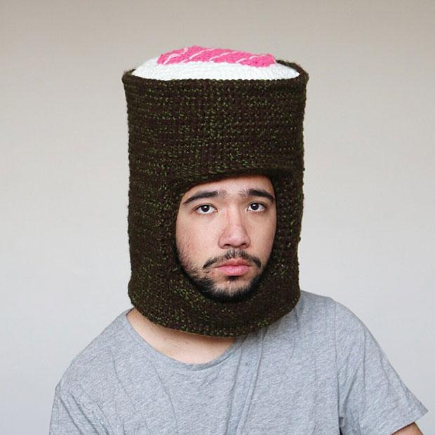หมวกโครเชต์ ซูชิ