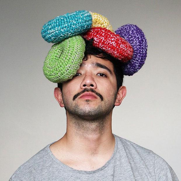หมวกโครเชต์ ฟรุตลูป ซีเรียล
