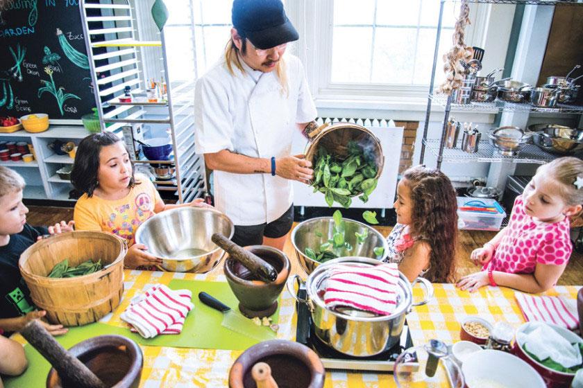 องค์กรบริจาคอาหารเพื่อการกุศล Edible Schoolyard
