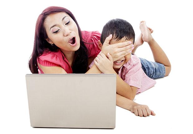 อุปกรณ์ป้องกันเหตุร้าย การควบคุมเด็กโดยพ่อแม่